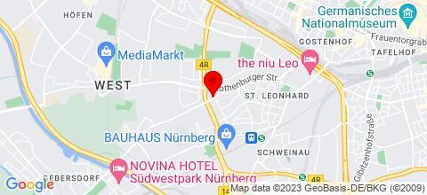 Google Map für Monteurunterkunft Steinbauer