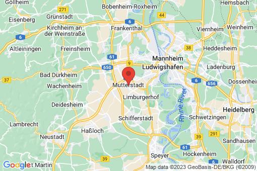 Karte Mutterstadt