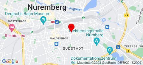 Google Map für Monteurzimmer Eureka