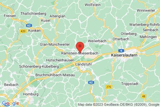 Karte Ramstein-Miesenbach