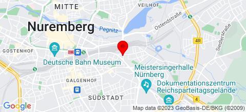 Google Map für Zimmer Monteure Arbeiterunterkunft