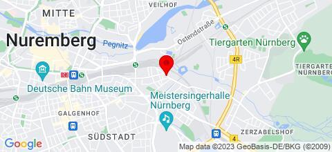 Google Map für Monteur Wohnung/ Zimmer in zentrale Lage