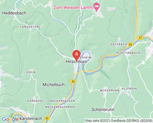Google Karte von Rohrreinigung Hirschhorn