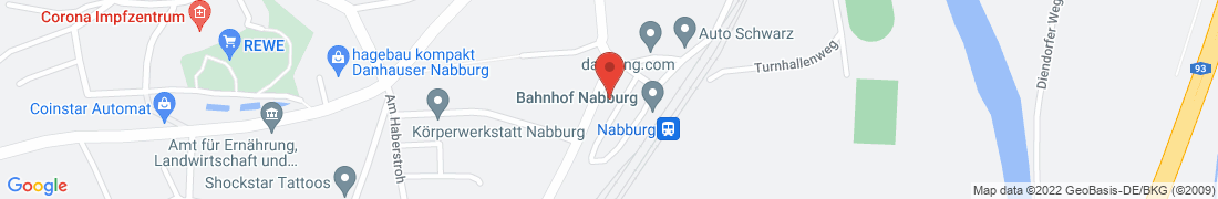 BayWa Baustoffe Nabburg Anfahrt