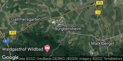 Google Map of Burgbernheim