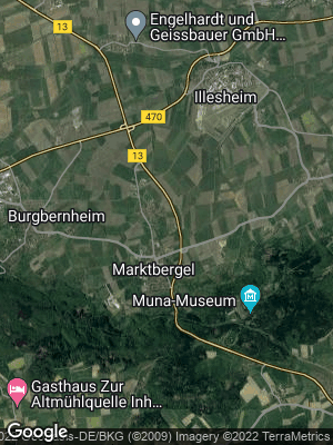Google Map of Marktbergel