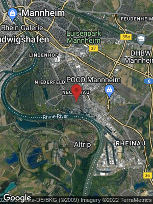 Google Map of Neckarau