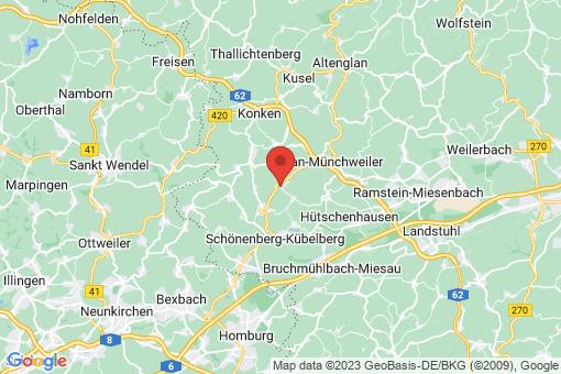 Karte Steinbach am Glan