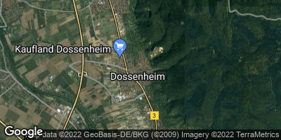 Google Map of Dossenheim