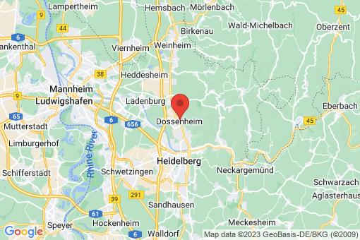 Karte Dossenheim