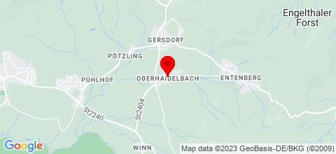 Google Map für Monteurzimmer Leinburg