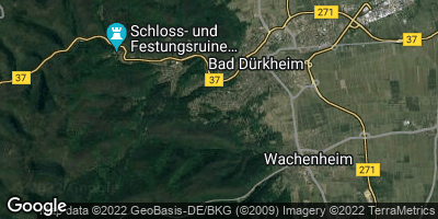 Google Map of Seebach