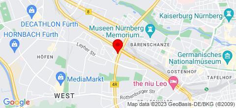 Google Map für Monteurzimmern  ab 5 Euro