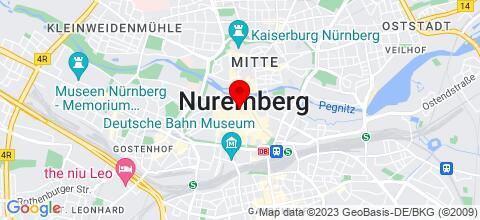 Google Map für Elegance City Appartement