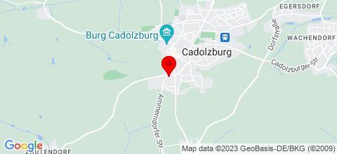 Google Map für Ferienwohnung Babette