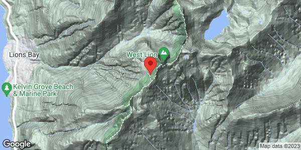 Howe Sound Crest Trail - Lions descent
