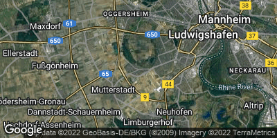 Google Map of Maudach