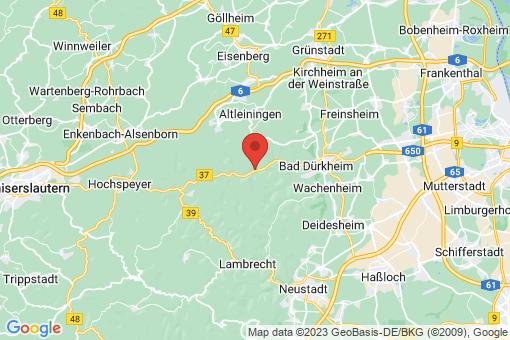 Karte Bad Dürkheim