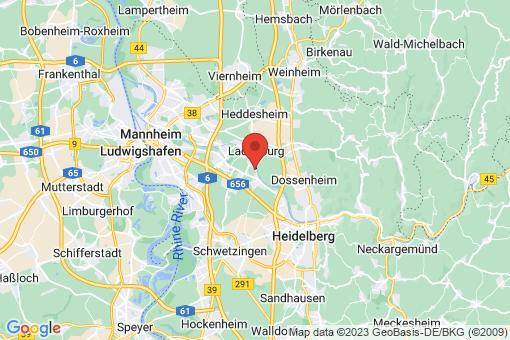 Karte Edingen-Neckarhausen
