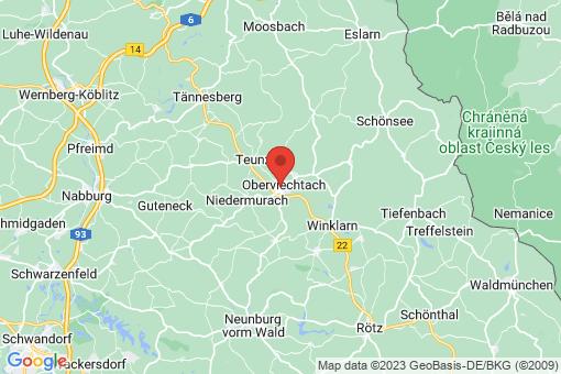 Karte Oberviechtach