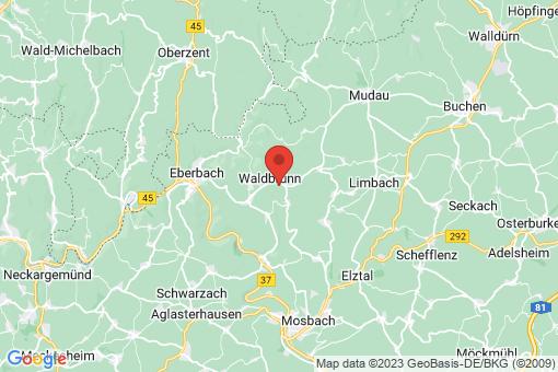 Karte Waldbrunn