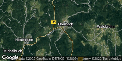 Google Map of Eberbach