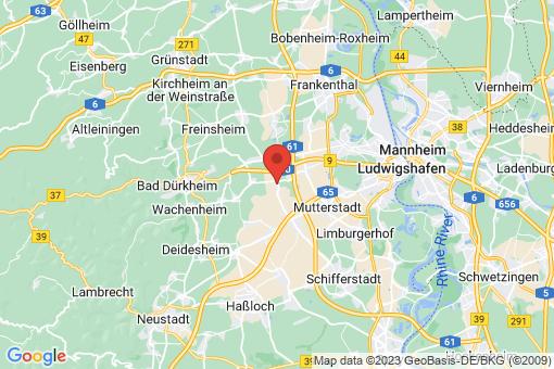 Karte Fußgönheim