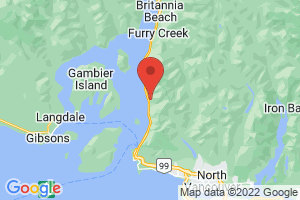 Map of Vancouver Coast