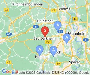 Karte für Salinarium Bad Dürkheim