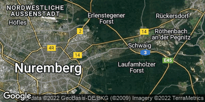 Google Map of Mögeldorf