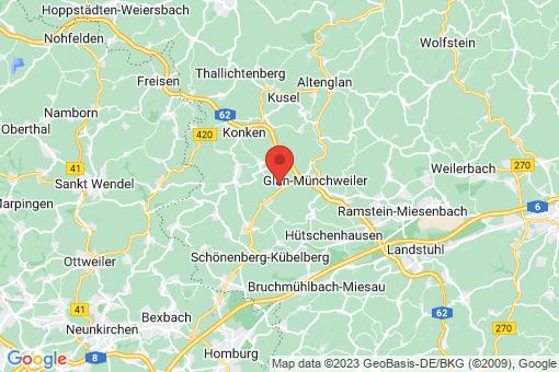 Karte Henschtal