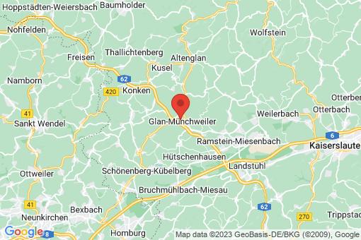 Karte Glan-Münchweiler