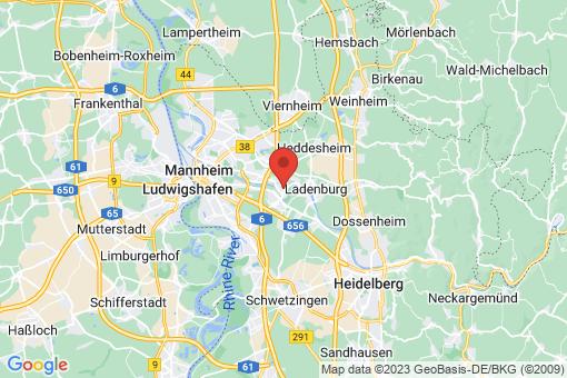 Karte Ilvesheim