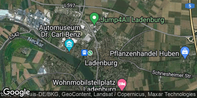 Google Map of Ladenburg