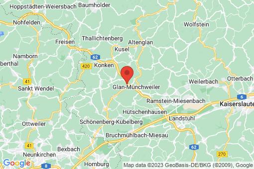 Karte Quirnbach