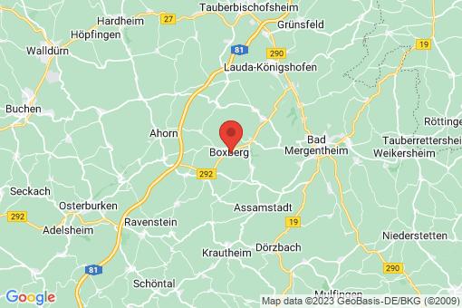 Karte Boxberg