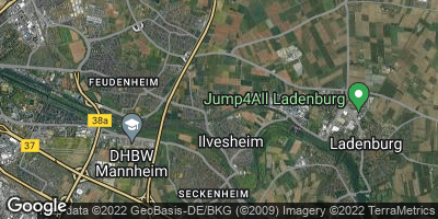 Google Map of Ilvesheim