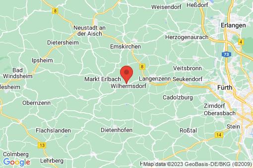 Karte Wilhermsdorf
