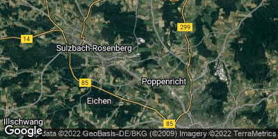 Google Map of Poppenricht