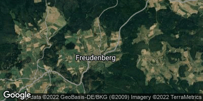 Google Map of Freudenberg