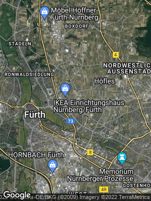 Google Map of Poppenreuth