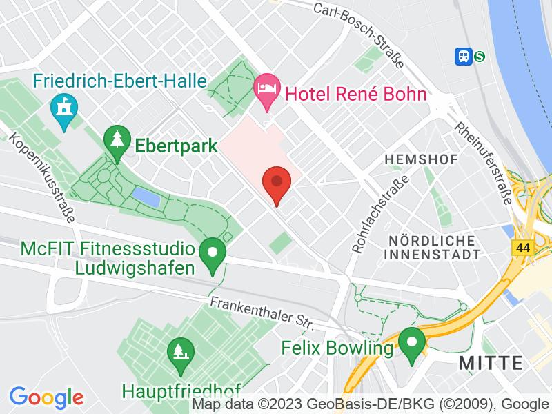 Map of Freischwimmer GmbH