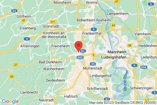 Karte Maxdorf