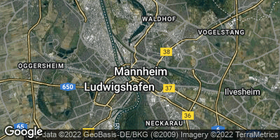 Google Map of Schwetzingerstadt
