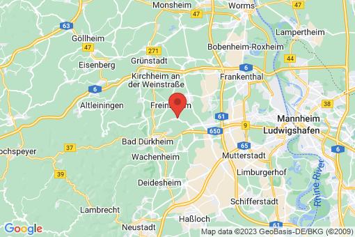 Karte Erpolzheim