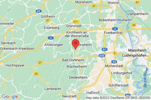Karte Kallstadt