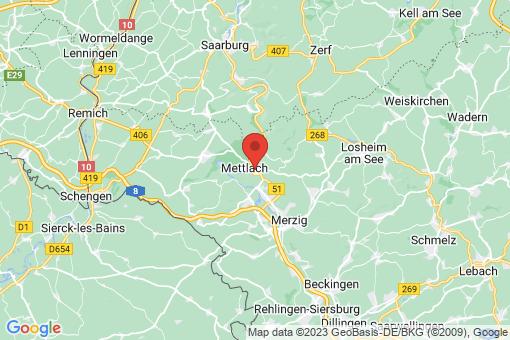Karte Mettlach