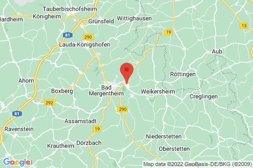 Karte Igersheim