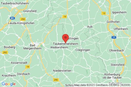 Karte Tauberrettersheim