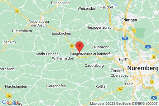 Karte Langenzenn